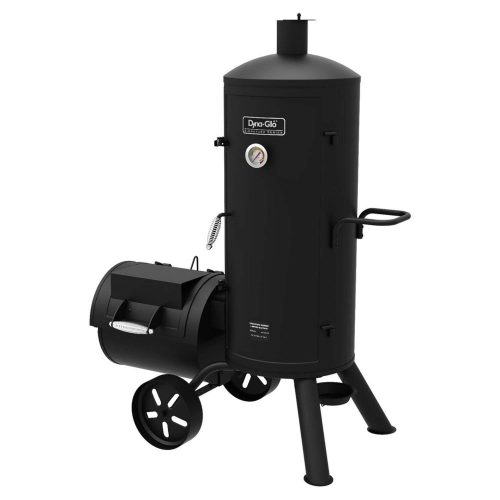 Dyna-Glo Signature Series Heavy-Duty Smoker & Grill - smoker grills