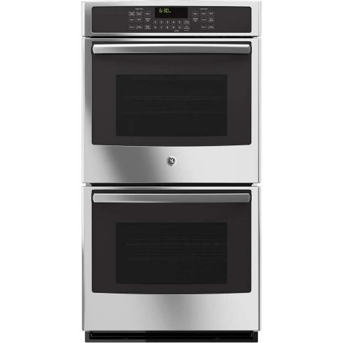 """GE JK5500SFSS 27"""" Built-In Double Convection Wall Oven In Stainless Steel - double wall ovens"""