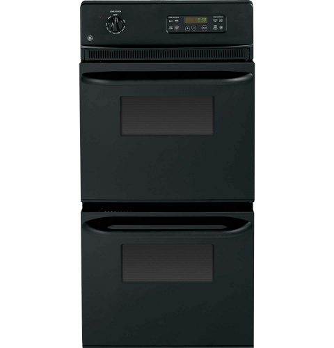 """GE JRP28BJBB 24"""" Black Electric Double Wall Oven - double wall ovens"""