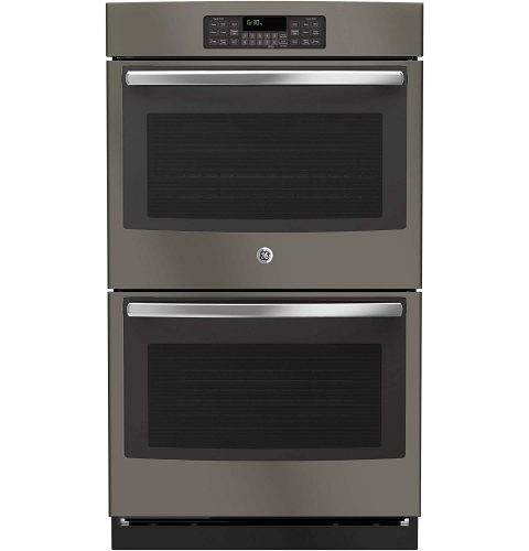 """GE JT3500EJES 30"""" Slate Electric Double Wall Oven - double wall ovens"""