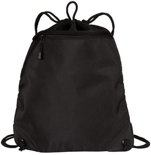 High Quality Fully Breathable Drawstring Bag/ Backpack/ Cinch Bag with Mesh Back - Drawstring Bags