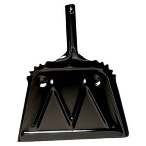 "Impact Products inc 4212-90 12"", Black Metal Dust Pan - dust pans"