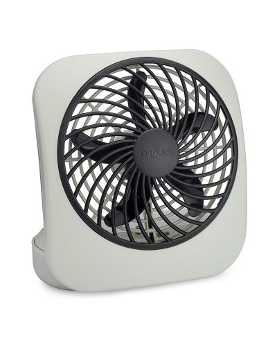O2COOL 5-Inch Portable Desktop Air Circulation Battery Fan - portable desk fans