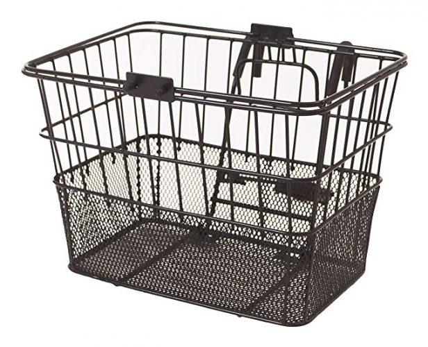 Retrospec Bicycles Detachable Steel Half-Mesh Apollo Bike Basket - Bike Baskets