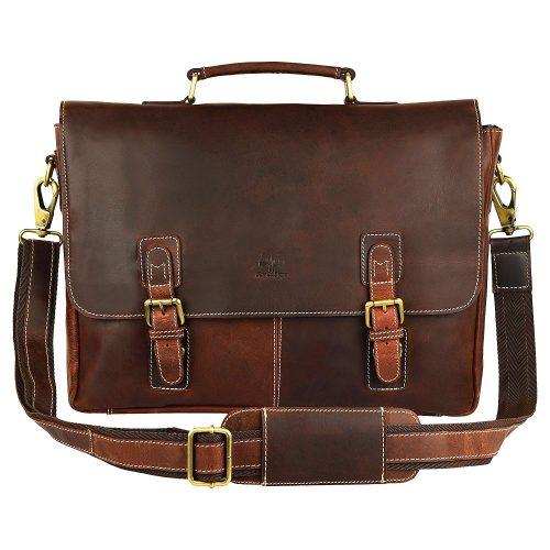 Rustic Town Genuine Leather Handmade Crossbody Messenger