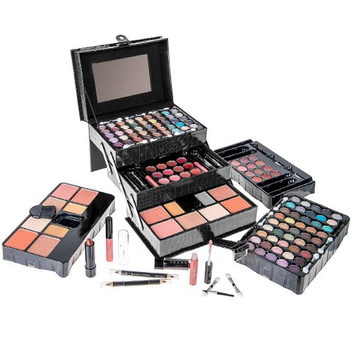 SHANY All in One Makeup Kit, Black - Professional Makeup Kits