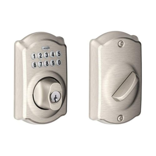 Schlage BE365VCAM619 Camelot Keypad Deadbolt - Electronic Door Locks
