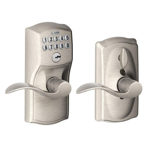 Schlage FE595VCAM619ACC Camelot Keypad Entry - Electronic Door Locks