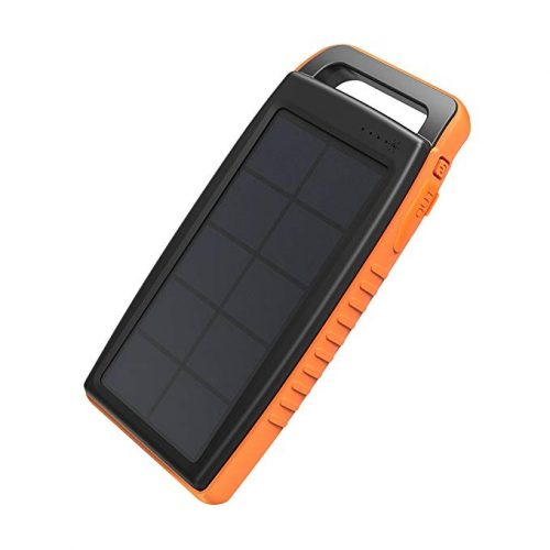 Solar Charger RAVPower 15000mAh Outdoor Portable Charger Solar Power Bank - Solar Power Banks