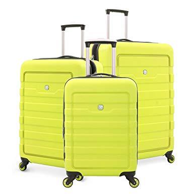 SwissGear Hard case Suitcase Spinner Set - hard case suitcases