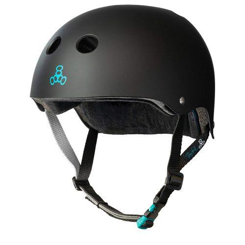 Triple Eight Helmet with Sweatsaver Liner - skateboard helmet
