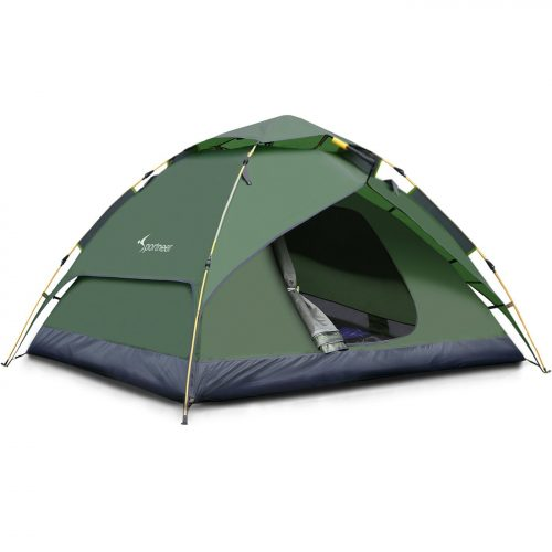 Sportneer Camping Tent 3-4 Person Automatic Instant Pop Up Waterproof Camping
