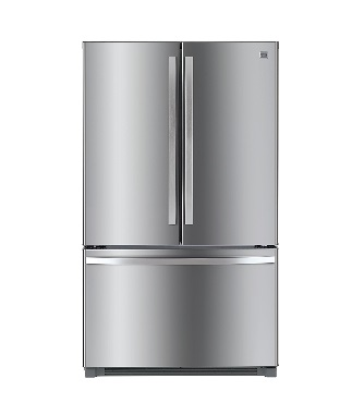 Kenmore 73025 26.1 Cu. Ft Stainless Steel French Door Refrigerator