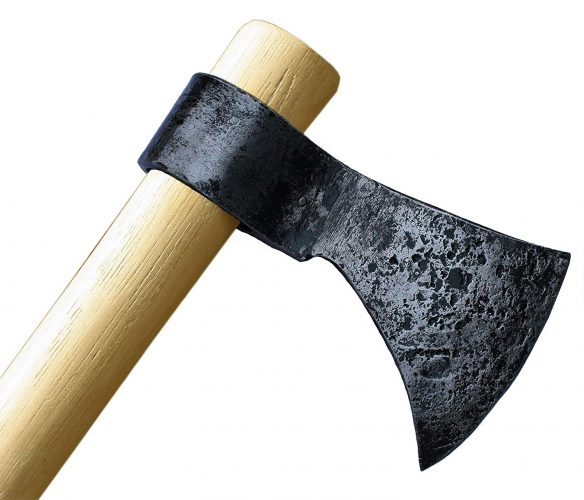 "Throwing Axe - Win Your Next Viking Throwing Tomahawk Competition! 19"" Hand Forged Hatchet From High Carbon Steel, NMLRA Approved, 100% Guaranteed From Defects"