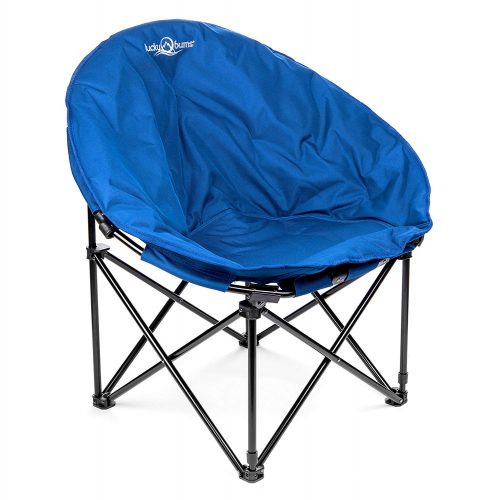 Lucky Bums Moon Camp Indoor Outdoor Comfort Lightweight Durable Chair