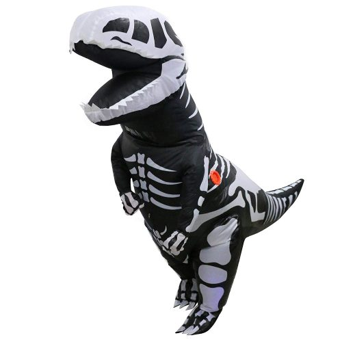 Inflatable Dinosaur Skeleton Costume
