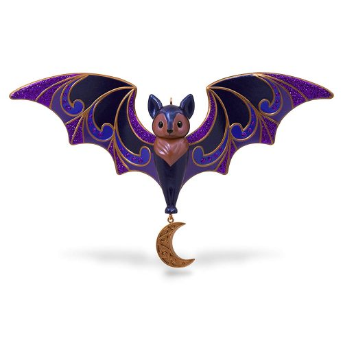 Hallmark Keepsake Halloween Decor Ornament 2020 Year Dated, Bewitching Bat