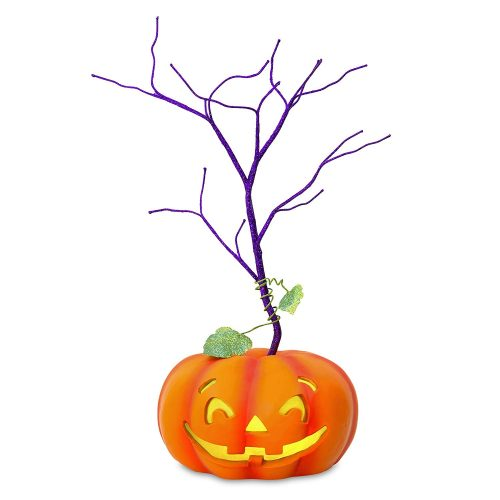Hallmark Keepsake Halloween Decor Mini Tree With Light 2020 Year Dated, for Miniature Ornaments, 11.5""