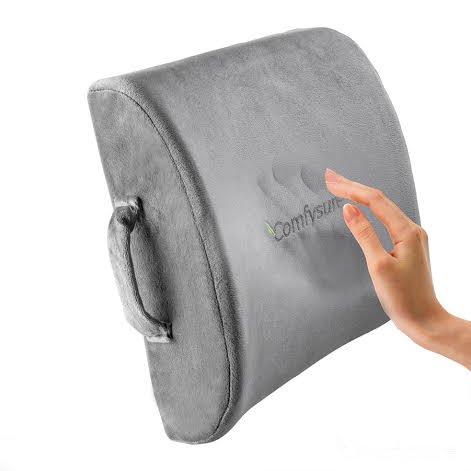 ComfySure Memory Foam Back Cushion - Lumbar support pillows