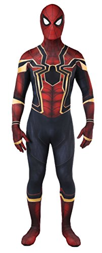 Reach Unisex Lycra Spandex Zentai Halloween Cosplay Costumes - Spiderman Costume for Kids