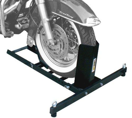MaxxHaul 70271 Heavy Duty Motorcycle Wheel Chock - Motorcycle Wheel Chock