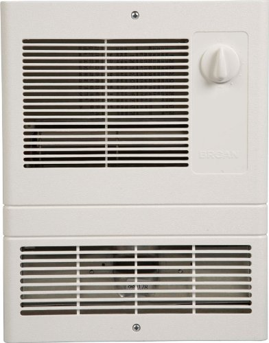Broan 9815WH High Capacity Wall Heater with 1500 Watt Fan - wall mounted electric heaters