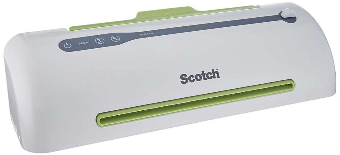 Scotch PRO Thermal Laminator, Never Jam Technology Automatically - laminating machines