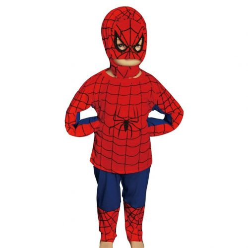 Dressy Daisy Boys' Halloween Spiderman Superhero - Spiderman Costume for Kids