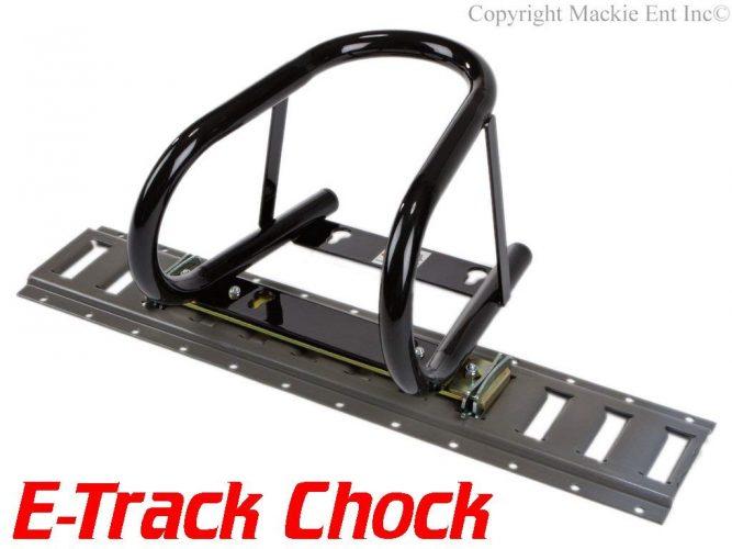 "Marson USA 5.5"" Motorcycle Wheel Chocks T200-ETRACK - Motorcycle Wheel Chock"