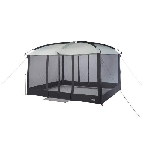 Wenzel Magnetic Screen House, Black - camping screen house