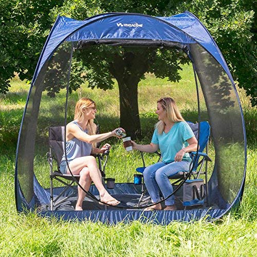 Viva Active 7.5' Pop Up Screen Room with Floor - camping screen house
