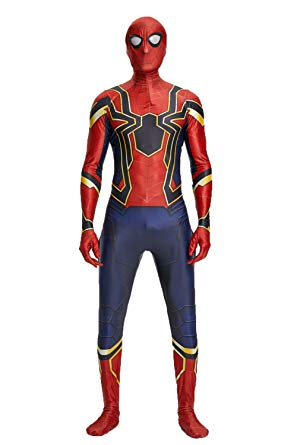 Seven Plus Unisex Lycra Spandex Zentai Halloween Cosplay Costumes - Spiderman Costume for Kids
