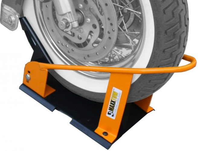 MaxxHaul 70075 Motorcycle Wheel Chock - Motorcycle Wheel Chock