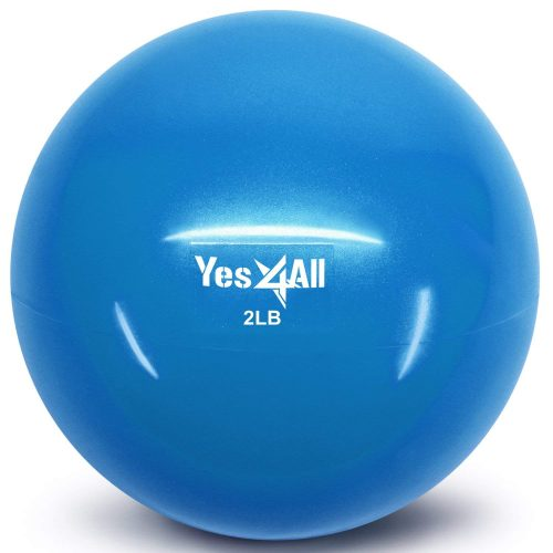 Yes4All Soft Weighted Toning Ball/Medicine Ball - medicine balls