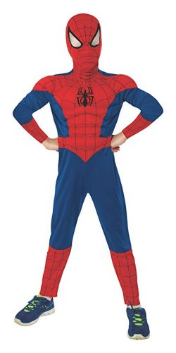 Rubie's Marvel Ultimate Spider-Man Deluxe Muscle Chest Costume - Spiderman Costume for Kids