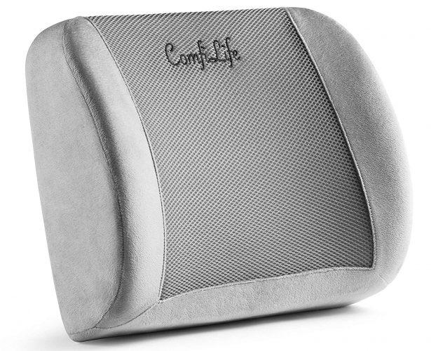 ComfiLife Lumbar Support Back Pillow Office Chair and Car Seat Cushion - Lumbar support pillows