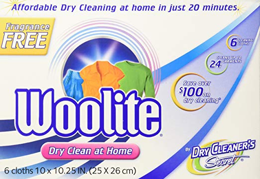 Woolite Dry Cleaner's Secret Fragrance - Home Dry Cleaning Starter Kit