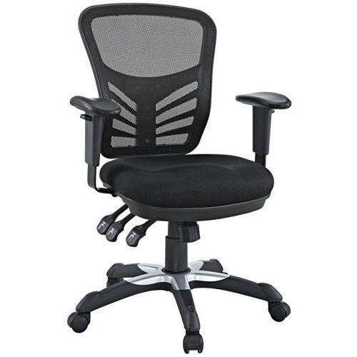 Modway Articulate Ergonomic Mesh Office Chair - Minimal Design Office Chair