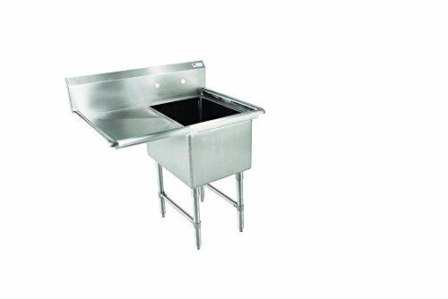 John Boos E Series Stainless Steel Sink - Drainboard Sink