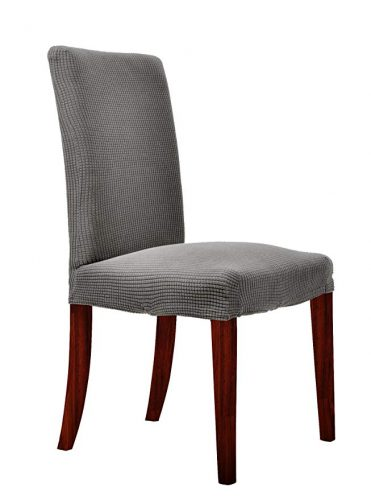CHUN YI Waterproof Jacquard Polyester Spandex - Dining Chair Seat Covers