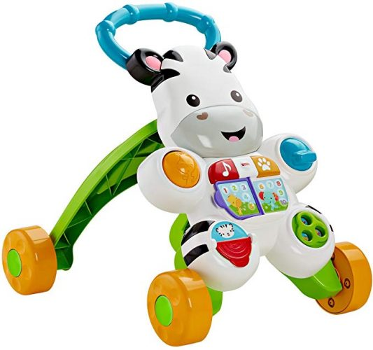 Fisher-Price Learn with Me Zebra Walker - Baby Push Walkers
