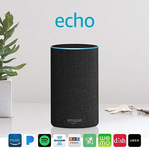 Echo (2nd Generation) - Smart speaker with Alexa - Airplay Speakers
