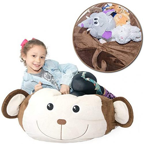 Jumbo Stuffed Storage Bean Bag chair - Bean Bag Chairs For Kids
