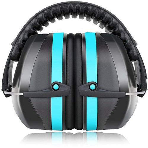 Fnova 34dB Highest NRR Safety Ear Muffs - Kid Earmuffs