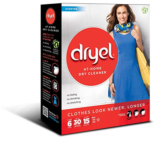 Dryel At-Home Dry Cleaner Starter Kit - Home Dry Cleaning Starter Kit