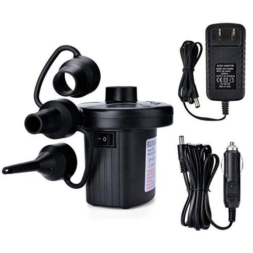 Electric Air Pump, AGPtEK Portable Quick-Fill Air Pump - Electric Portable Air Mattress Pumps
