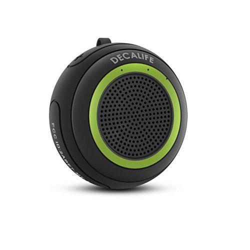 DECALIFE ST-1 Green Portable Bluetooth Speaker - Floating & Pool Speakers