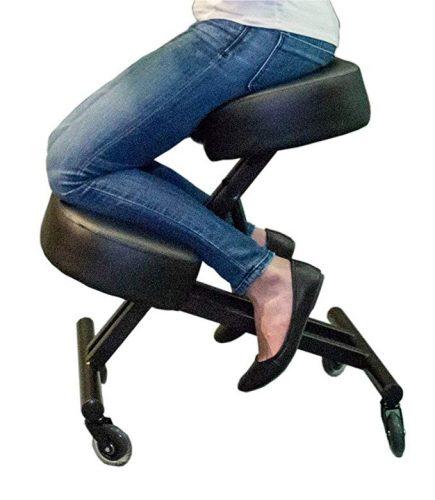 Sleekform Kneeling Chair for Perfect Posture - Ergonomic Kneeling Chairs