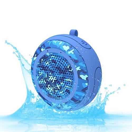 CYBORIS IPX7 Waterproof Outdoor Bluetooth Speaker Swimming Pool - Floating & Pool Speakers