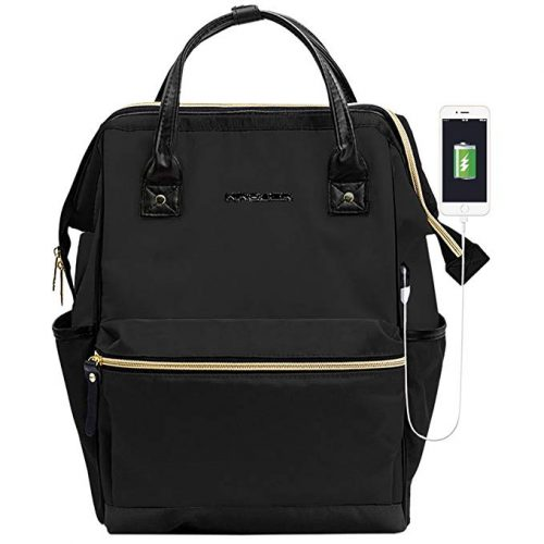 KROSER Laptop Backpack 15.6 Inch Stylish Computer Backpack - College Backpacks For Men And Women